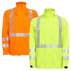 National Safety Apparel TARGOJACK FR Class 3 HRC 3 Gore-Tex Foul Weather Safety Jacket