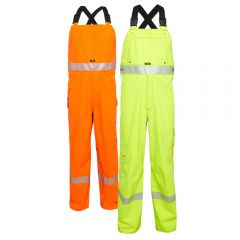 National Safety Apparel TARGOBIB FR Class E HRC 3 Gore-Tex Foul Weather Safety Bib