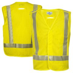 National Safety Apparel VIZABLE FR Class 2 HRC 1 HiVis Breakaway Mesh Safety Vest