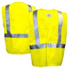 National Safety Apparel Vizable V20TD2V FR Class 2 HRC 2 Ultra-Soft Contractor Safety Vest