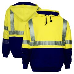 National Safety Apparel Vizable FR Class 3 CAT 2 Pullover Sweatshirt