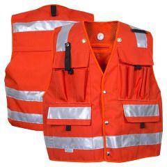 National Safety Apparel Vizable VNT9126D Enhanced Visibility Solid Forestry Safety Vest