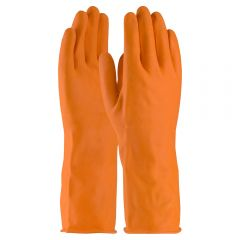 PIP 48-L302T Assurance 28-mil Industrial Latex Orange Safety Gloves | Up