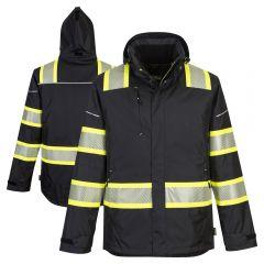 Portwest F144 Iona Plus HiVis Segmented Winter Safety Jacket