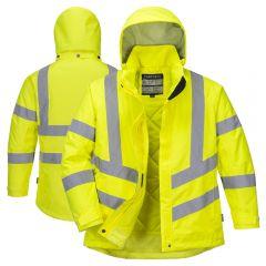 Portwest LW74 Class 3 Ladies HiVis PU Coated Jacket