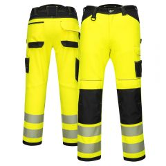 Portwest PW340 Class E High Visibility Work Pants