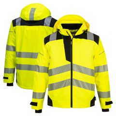 Portwest PW360 Class 3 Extreme Breathable Segmented Rain Jacket