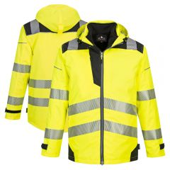 Portwest PW365 Class 3 High Visibility 3-in-1 Segmented Jacket