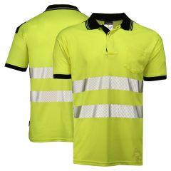 Portwest T180 Class 2 High Visibility Short Sleeve Polo Shirt