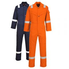 Portwest UFR21 HRC 2 Light Weight FR Anti-Static Coverall
