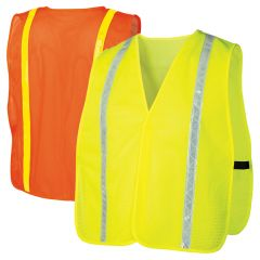 Pyramex RV1 Series Enhanced Visibility Hook and Loop Prismatic Safety Vest
