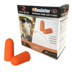 Radians FP70 Disposable Bullet Foam Earplugs - 200 Pair
