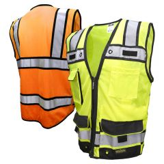 Radians SV65-2 Class 2 Heavy Duty Zippered Surveyors Vest