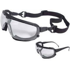 Radians Dagger DG1 Anti-fog Foam Lined Safety Goggles