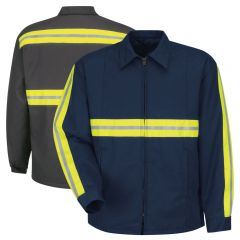Red Kap JT50 Enhanced Visibility Perma-lined Jacket