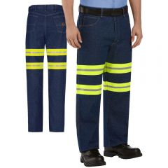 Red Kap PD60 Enhanced Visibility Relaxed Fit Jean