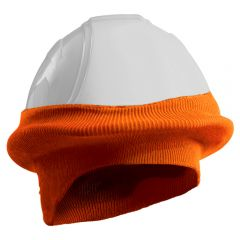 Ribbed Knit Polyester Hard Hat Tube Liner