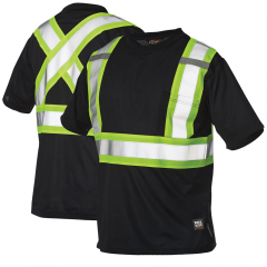 Work King S392 Micro-Mesh Safety T-Shirts