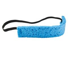 Sponge Sweatband - Bulk 25 Pack | Blue