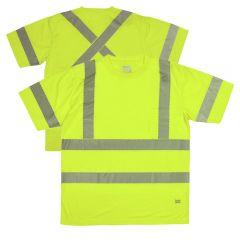 Tough Duck ST12 Class 3 High Visibility Segmented Short Sleeve T-Shirt
