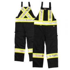Tough Duck S769 Class 1 Black Poly/Cotton Unlined Contrast Safety Overall