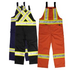 Tough Duck S769 Class 1 Poly/Cotton Unlined Contrast Safety Overall