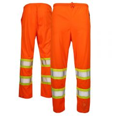 Work King S603 Type E HiVis Tricot Safety Pull-On Pants