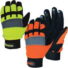 3A Safety G5100/G5101 Warrior HiVis Mechanic Gloves