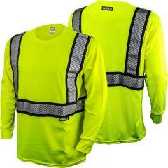 DeWALT DST921 ANSI Class 2 Flame Resistant Long Sleeve Safety Shirt