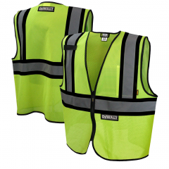 Dewalt DSV221 ANSI Class 2 High Visibility Economy Mesh Safety Vest