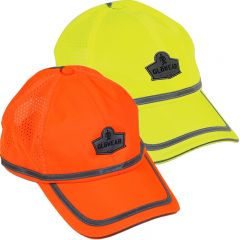 Ergodyne GloWear 8930 High Visibility Vented Reflective Baseball Cap