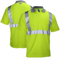 Ergodyne GloWear 8295 Class 2 Polo Shirt