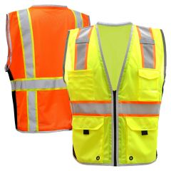 GSS Safety 1703/1704 Class 2 Hyper-Lite Safety Vest