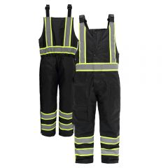 GSS Safety 8703 Contrast Series Class E HiVis Thermal Safety Bibs