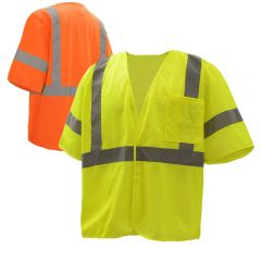 GSS Safety 2003-2004 Class 3 Mesh Safety Vest
