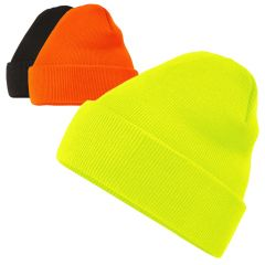 HiVis Supply H1112 Classic Cuffed Arctic Knit Beanie