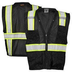 ML Kishigo B100 Enhanced Visibility Multi-Pocket Mesh Vest