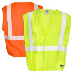 ML Kishigo F300 Economy Series FR Class 2 Safety Vests | Front