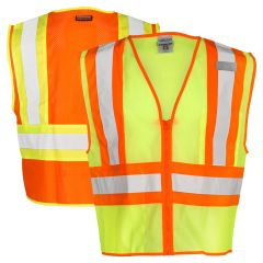 ML Kishigo 1055 Ultra-Cool ANSI Class 2 Contrasting Mesh Safety Vest