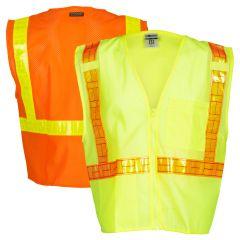 ML Kishigo 1076/1077 Ultra-Cool ANSI Class 2 Hi Vis Mesh Safety Vest