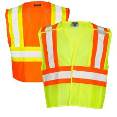 ML Kishigo 1174/1176 Ultra-Cool Breakaway Class 2 Mesh Safety Vest