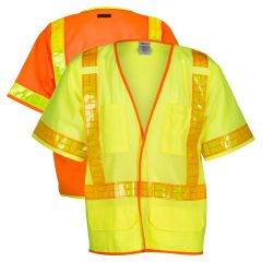 ML Kishigo 1201A/1202A Class 3 Ultra-Cool Mesh Vest with Omni-Brite