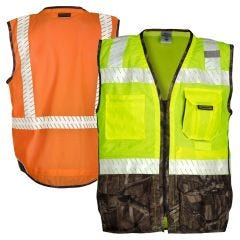 ML Kishigo 1523/1524 Brilliant Series Class 2 Mossy Oak Camouflage Safety Vest