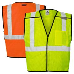 ML Kishigo 1535 Economy ANSI Class 2 Breakaway Safety Vest