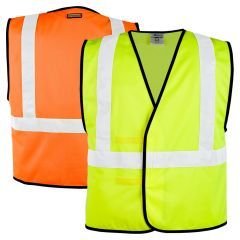 ML Kishigo 1545/1546 Class 2 Economy Solid Adjustable Safety Vest