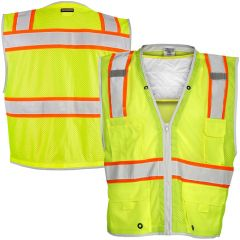 ML Kishigo 1610 Class 2 Brisk Cooling Vest w/ Shoulder Insert