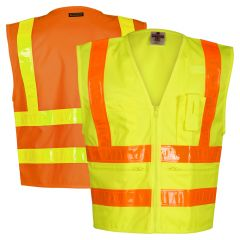 ML Kishigo 1197/1198 Class 2 Hydrowick-Lite Prismatic HiVis Safety Vest