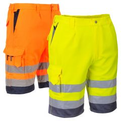 Portwest UE043 Class E Utility Shorts
