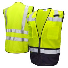 Radians SV59B Class 2 Heavy Duty Black Bottom Surveyors Vest