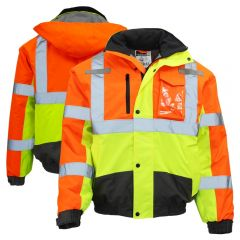 Radians SJ12 ANSI Class 3 Multi-Color Safety Jacket | Front